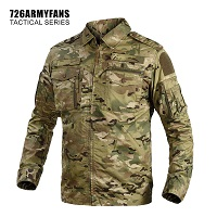 Лёгкая куртка 726 Tactical, multicam