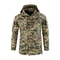 Куртка M65 утепленная Soft Shell, Multicam